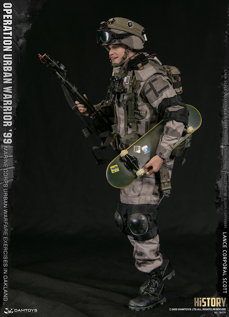 MarineCorps - NEW PRODUCT: DAMToys: 1/6 '99 City Warrior Operation-Marine Corps Oakland City Battle Exercise - Lance Corporal Scott #78079 2655
