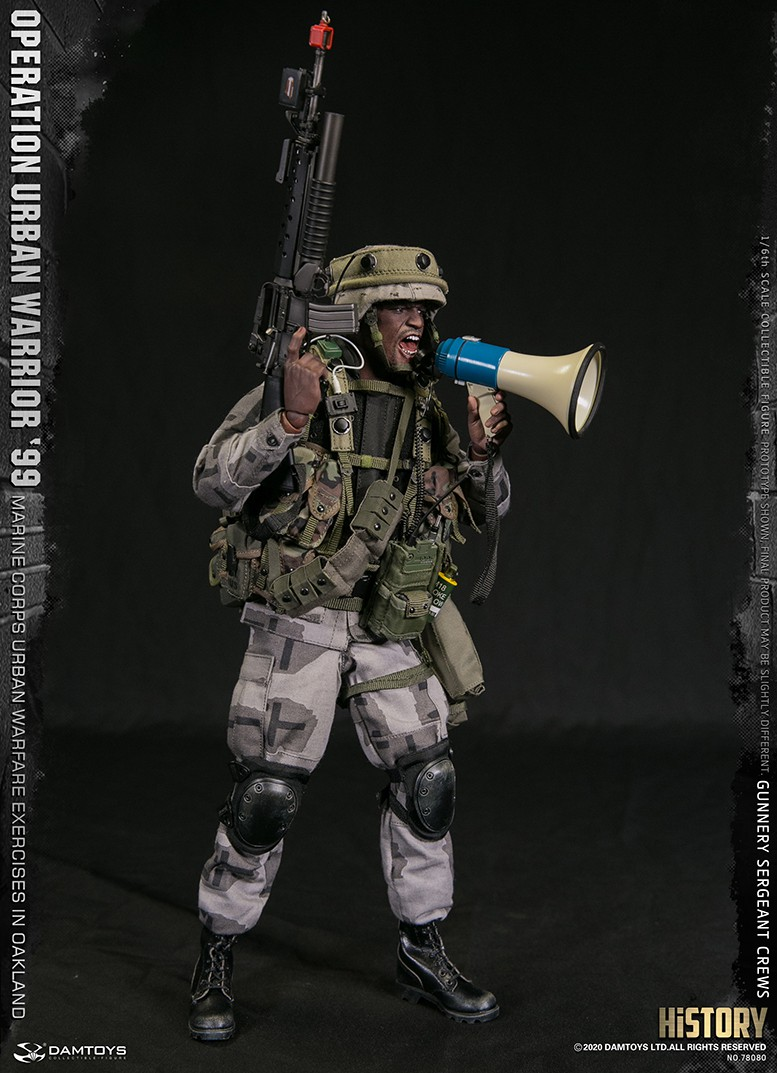 modernmilitary - NEW PRODUCT: DAMTOYS: 1/6 '99 City Warriors Operation-Marine Corps Oakland City Battle Exercise-Gunner Sergeant Cruise #78080 2656