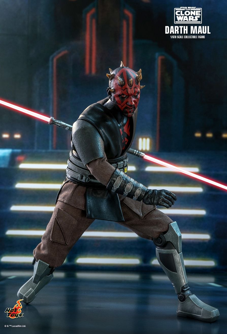 Sci-Fi - NEW PRODUCT: HOT TOYS: STAR WARS: THE CLONE WARS™ DARTH MAUL™ 1/6TH SCALE COLLECTIBLE FIGURE 2669