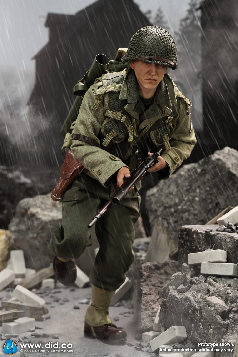 DiD - NEW PRODUCT: DiD: A80144 WWII US 2nd Ranger Battalion Series 4 Private Jackson 2686