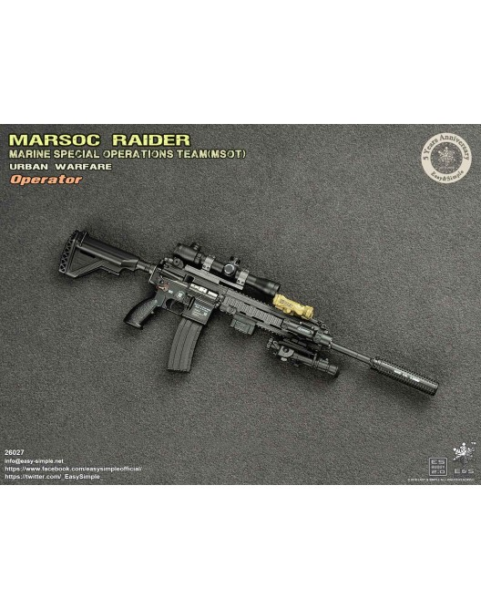 NEW PRODUCT: Easy & Simple 26027 1/6 Scale MARSOC Raider Urban Warfare Operator 27-52810