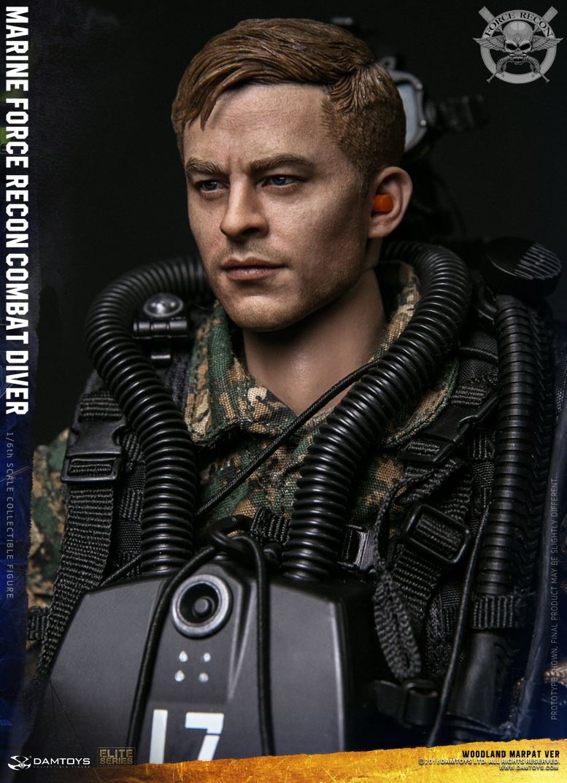 DamToys - NEW PRODUCT: DAM Toys: Marine Force Recon Combat Diver (Desert MARPAT) (GIDAM-78056) & (Woodland MARPAT) (GIDAM-78055) 2714