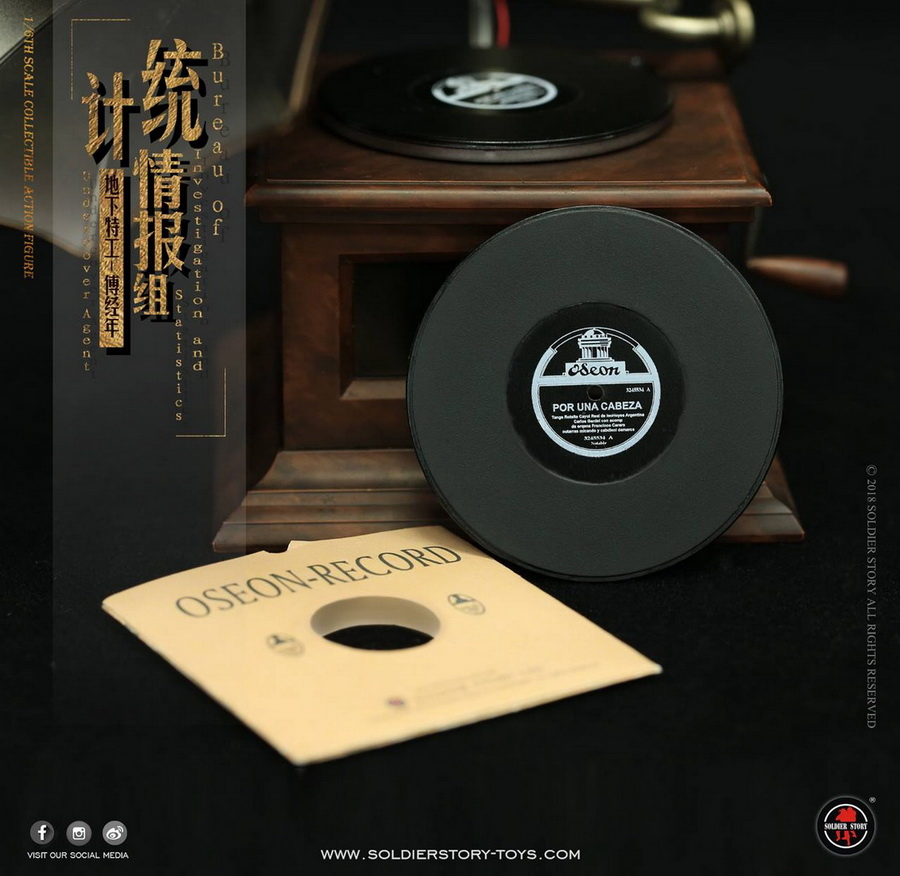 SoldierStory - NEW PRODUCT: SoldierStory new product: 1/6 World War II statistical intelligence group underground agent Fu Jingian - Shanghai 1942 (SS113#) 2720