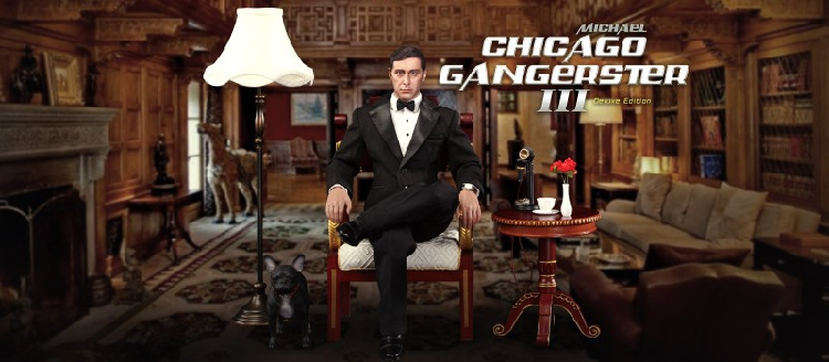 Michael - NEW PRODUCT: DiD Corporation: T80128  Chicago Gangster III Michael & T80128S  Chicago Gangster III Michael Deluxe Version 2723