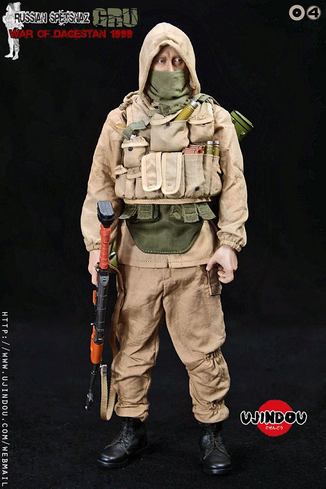 UJINDOU -  NEW PRODUCT: UJINDOU: 1/6 Russian Special Forces-Dagestan War 1999 #UD9004 [Update and update] 27f9b710