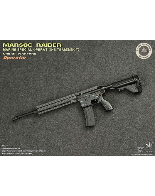 NEW PRODUCT: Easy & Simple 26027 1/6 Scale MARSOC Raider Urban Warfare Operator 28-52810