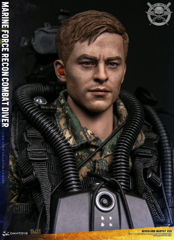 DamToys - NEW PRODUCT: DAM Toys: Marine Force Recon Combat Diver (Desert MARPAT) (GIDAM-78056) & (Woodland MARPAT) (GIDAM-78055) 2814