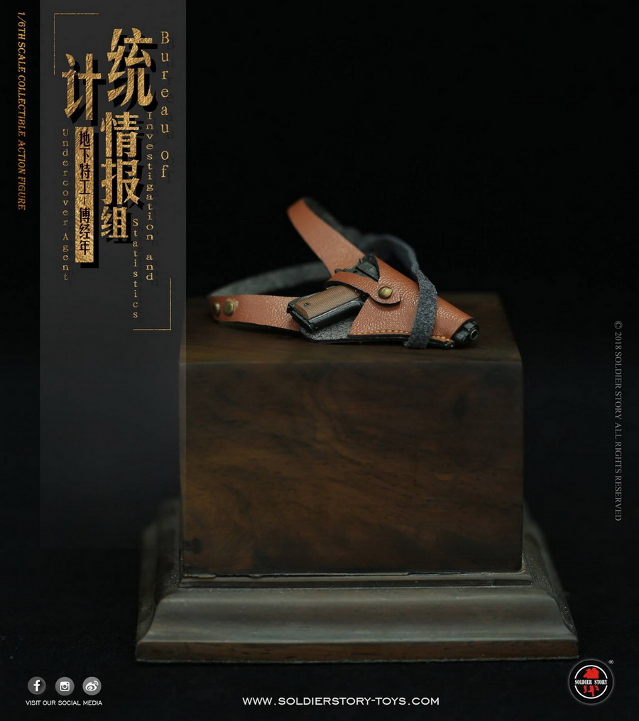 SoldierStory - NEW PRODUCT: SoldierStory new product: 1/6 World War II statistical intelligence group underground agent Fu Jingian - Shanghai 1942 (SS113#) 2819
