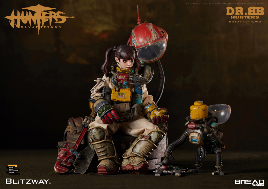 Robot - NEW PRODUCT: Blitzway: 1/6 scale HUNTERS : Day After WWlll: Dr.BB Action Figure 2834