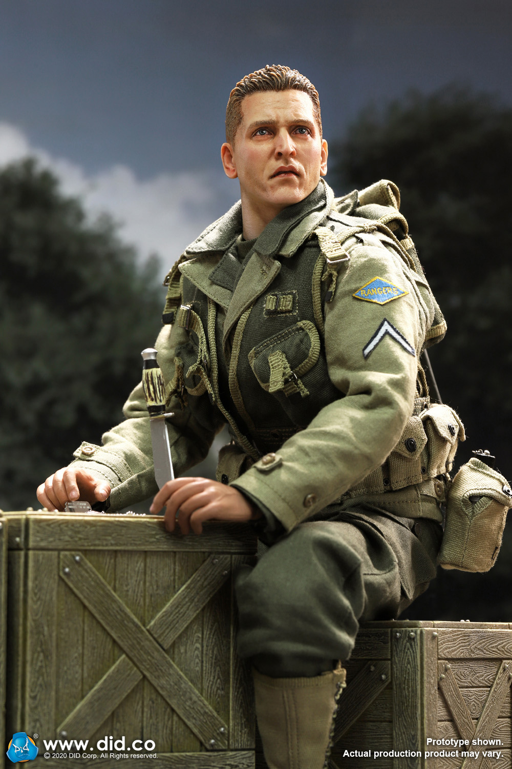 DiD - NEW PRODUCT: DiD: A80144 WWII US 2nd Ranger Battalion Series 4 Private Jackson 2844