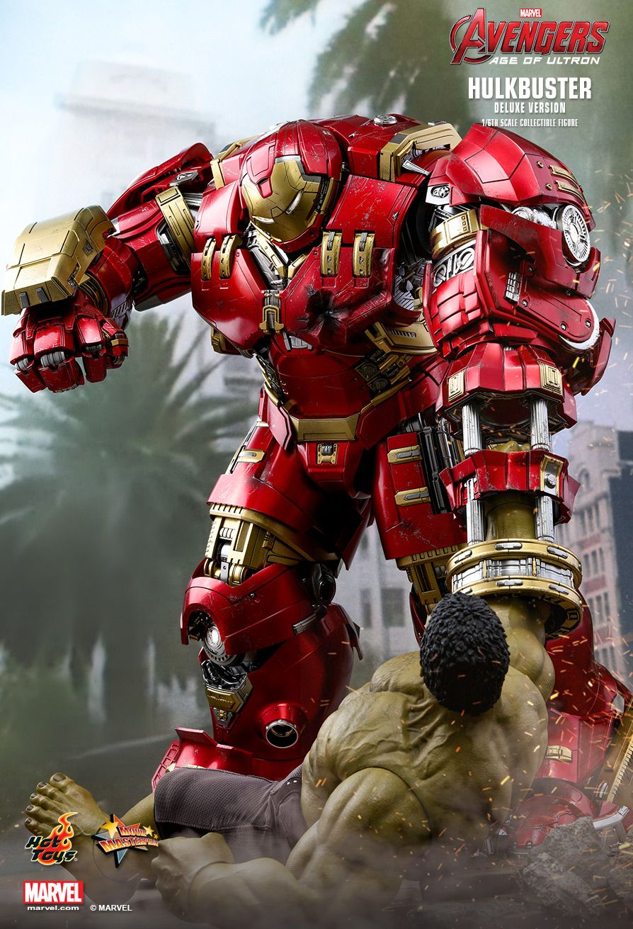 NEW PRODUCT: HOT TOYS: AVENGERS: AGE OF ULTRON HULKBUSTER (DELUXE VERSION) 1/6TH SCALE COLLECTIBLE FIGURE 287