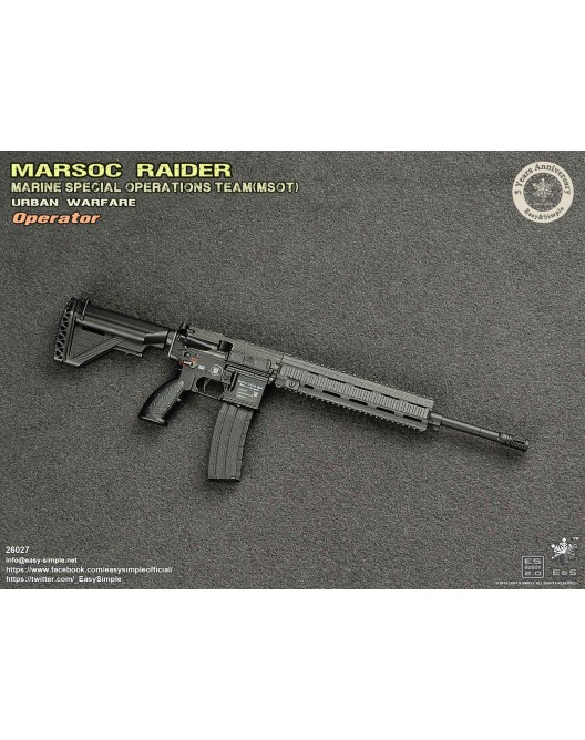 NEW PRODUCT: Easy & Simple 26027 1/6 Scale MARSOC Raider Urban Warfare Operator 29-52810