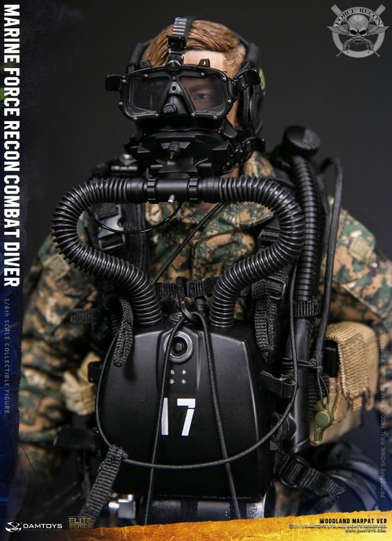 DamToys - NEW PRODUCT: DAM Toys: Marine Force Recon Combat Diver (Desert MARPAT) (GIDAM-78056) & (Woodland MARPAT) (GIDAM-78055) 2914
