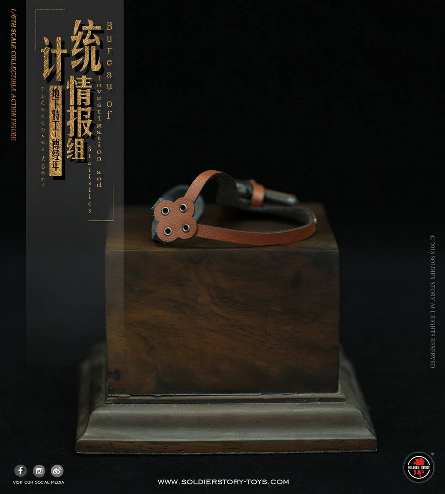 SoldierStory - NEW PRODUCT: SoldierStory new product: 1/6 World War II statistical intelligence group underground agent Fu Jingian - Shanghai 1942 (SS113#) 2916