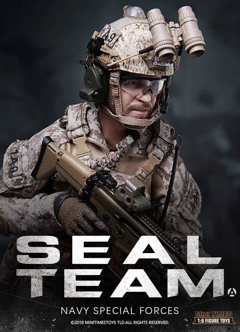 NEW PRODUCT: MINI TIMES TOYS US NAVY SEAL TEAM SPECIAL FORCES 1/6 SCALE ACTION FIGURE MT-M012 297