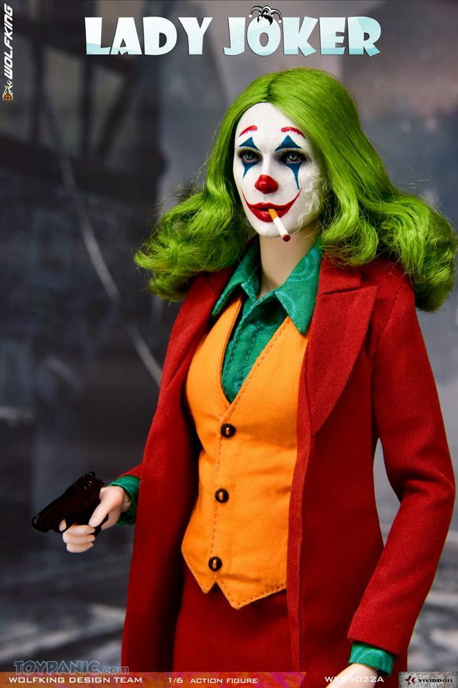 Wolfking - NEW PRODUCT: Wolfking: 1/6 scale Female Joker figure (Standard and Deluxe Editions) 2bf15810