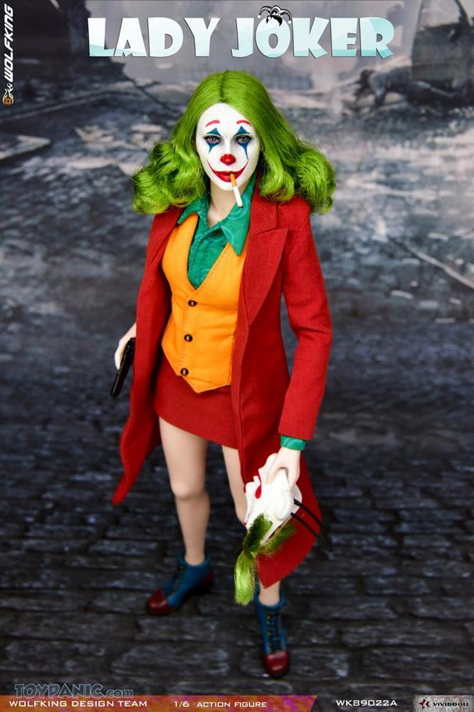 WolfKing - NEW PRODUCT: Wolfking: 1/6 scale Female Joker figure (Standard and Deluxe Editions) 2c17c010