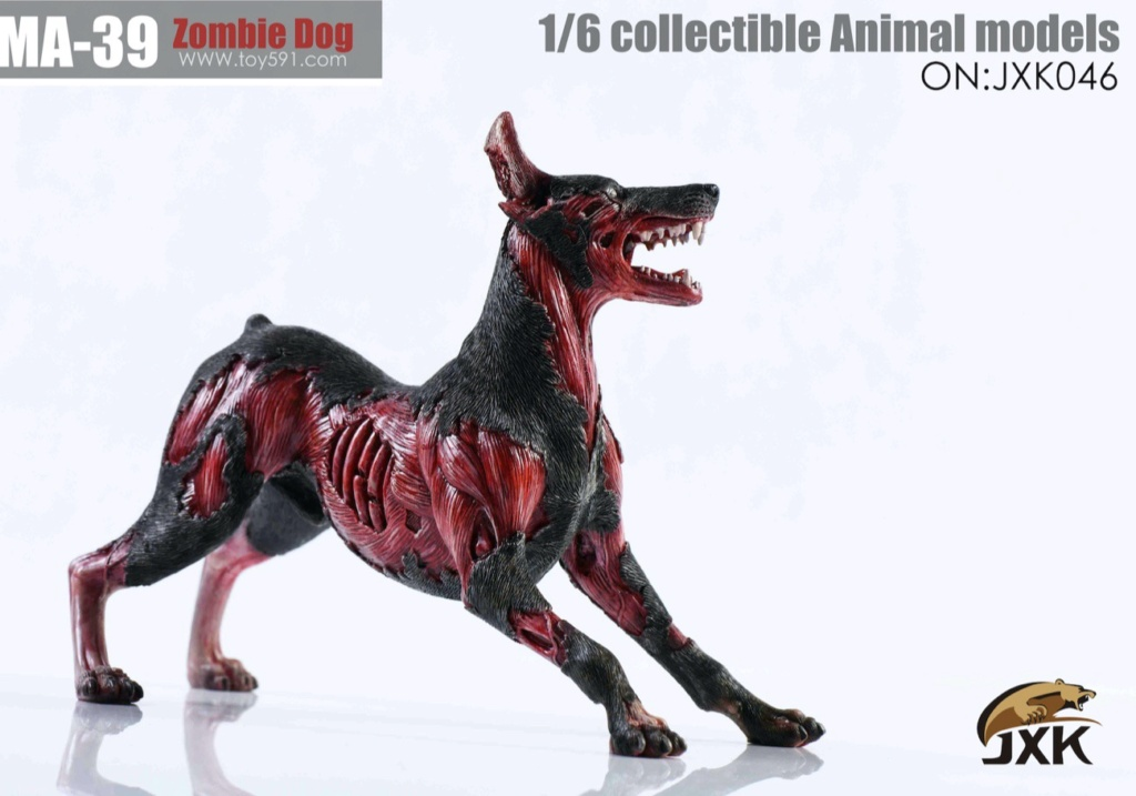 Dog - NEW PRODUCT: JXK: 1/6 Zombie Dog 2.0 JXK046 Resident Evil Zombie Dog Doberman 2c4ad810