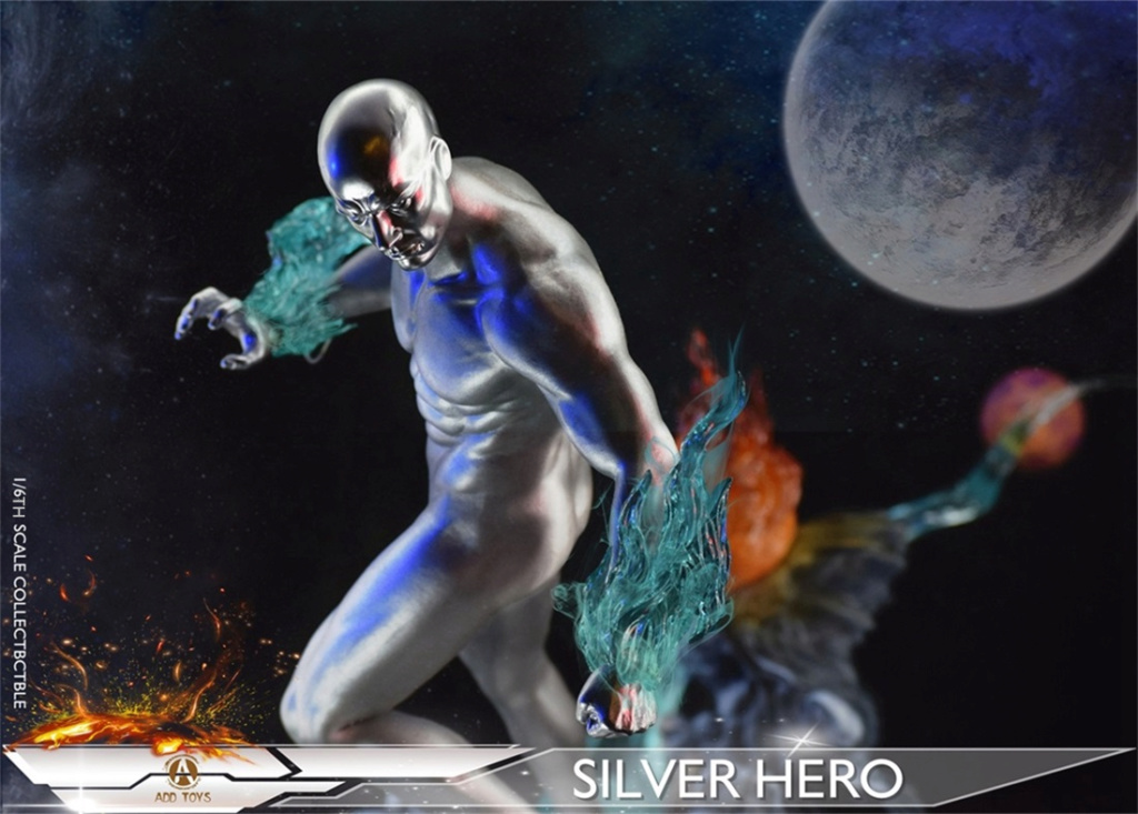 NEW PRODUCT: ADD Toys: 1/6 scale Silver Man/Silver Hero AD05 2e5fb910