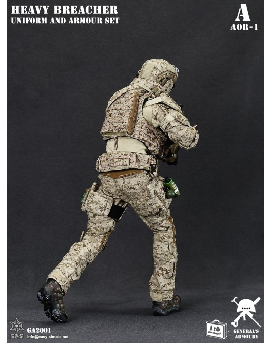 General - NEW PRODUCT: General's Armoury GA2001 1/6 Scale Heavy Breacher Uniform and Armour Set 3-528x11