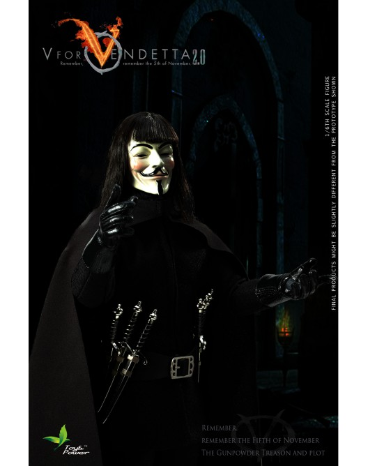 ToysPower - NEW PRODUCT: Toyspower CT013 1/6 Scale V for VENDETTA 2.0 3-528x19