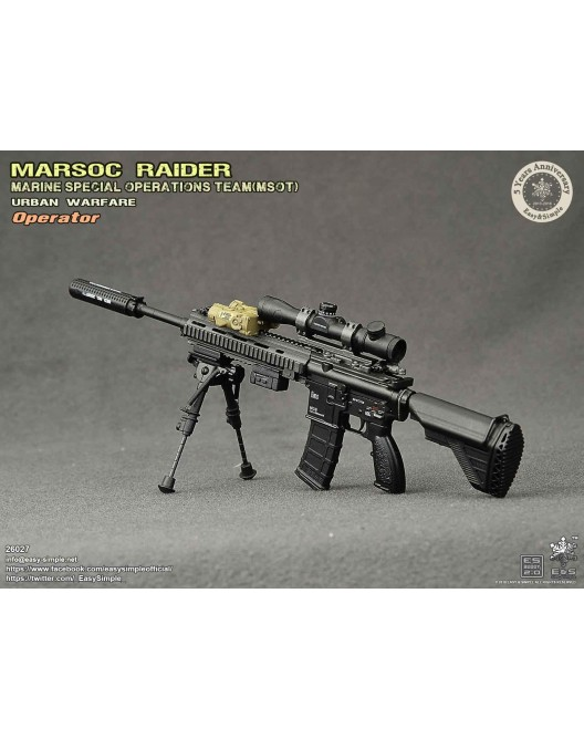NEW PRODUCT: Easy & Simple 26027 1/6 Scale MARSOC Raider Urban Warfare Operator 30-52810