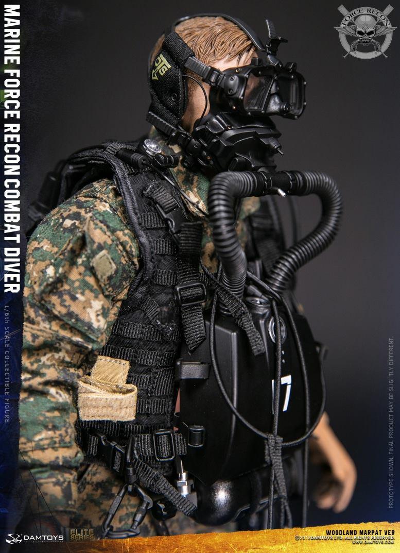DamToys - NEW PRODUCT: DAM Toys: Marine Force Recon Combat Diver (Desert MARPAT) (GIDAM-78056) & (Woodland MARPAT) (GIDAM-78055) 3014