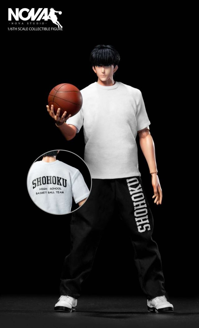 basketball - NEW PRODUCT: 1/6 Scale NOVA Studio Player No. 11 Rukawa Slamdunk スラムダンク流川楓 310