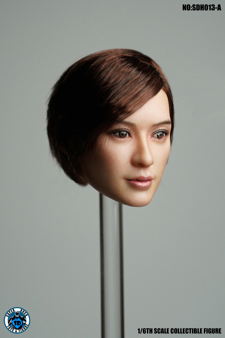 superduck - NEW PRODUCT: SUPER DUCK New product: 1/6 SDH013 female head carving - ABC three models 3104