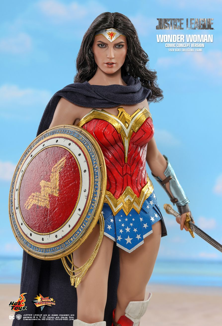 NEW PRODUCT: HOT TOYS: JUSTICE LEAGUE WONDER WOMAN (COMIC CONCEPT VERSION) 1/6TH SCALE COLLECTIBLE FIGURE 3109