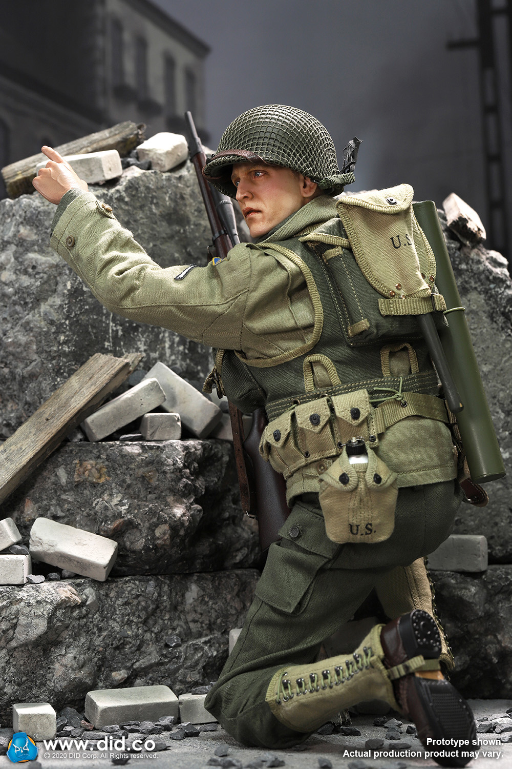 DiD - NEW PRODUCT: DiD: A80144 WWII US 2nd Ranger Battalion Series 4 Private Jackson 31112