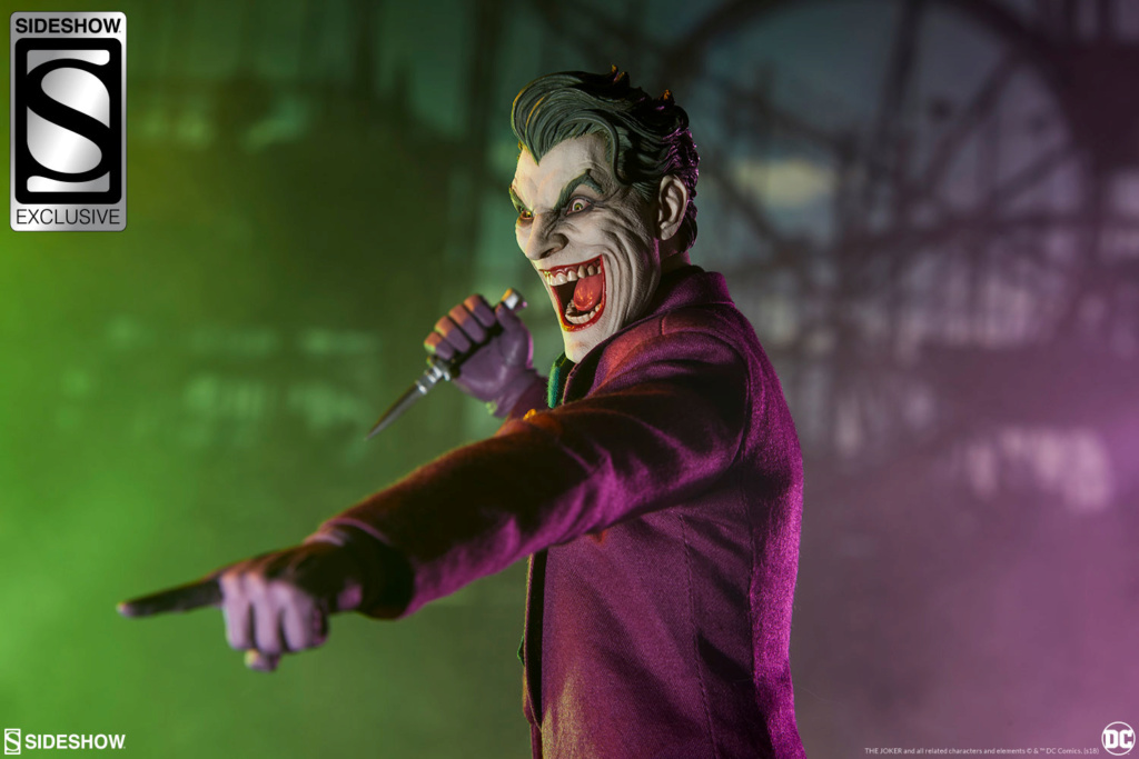 batman - NEW PRODUCT: SIDESHOW COLLECTIBLES: The Joker Sixth Scale Figure (Exclusive Laughing Head Sculpt) 3125