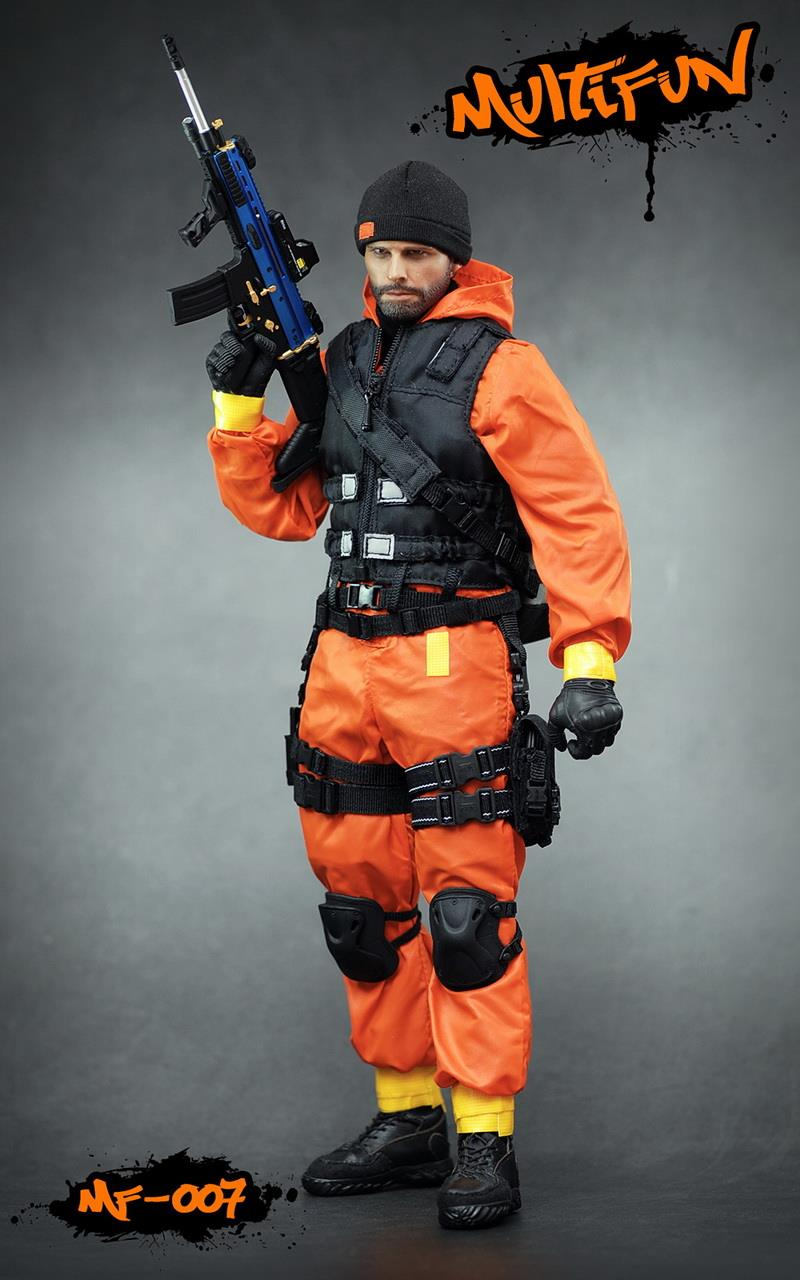 NEW PRODUCT: MULTIFUN 1/6th scale Quarantine Zone Agent 12-inch action figure Set 3140