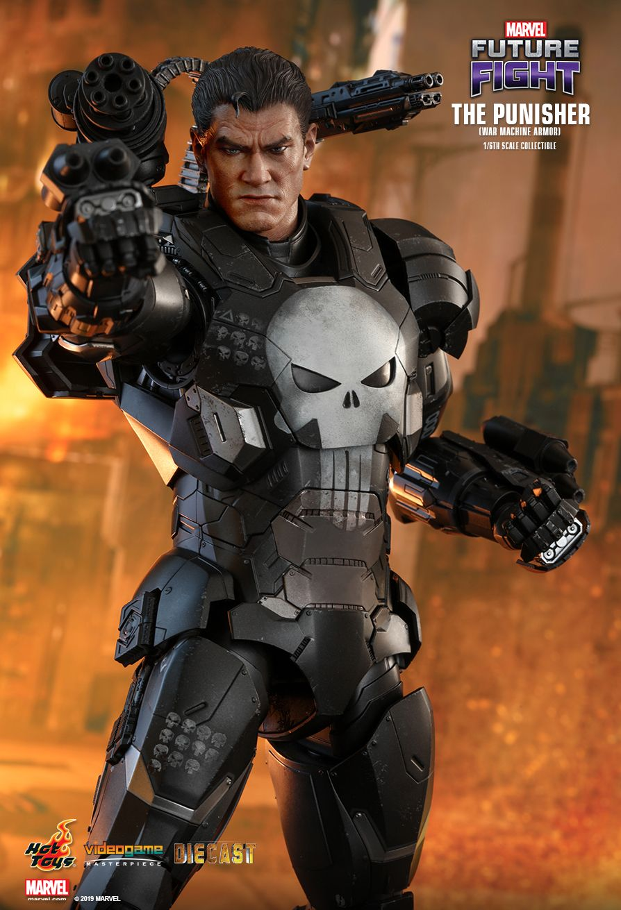 Videogame - NEW PRODUCT: HOT TOYS: MARVEL FUTURE FIGHT THE PUNISHER (WAR MACHINE ARMOR) 1/6TH SCALE COLLECTIBLE FIGURE 3153