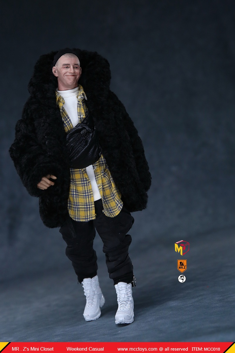 MCCTOys - NEW PRODUCT: MCCToys x Mr.Z: 1/6 Z's Mini Closet Series - Weekend Casual Set (MCC01#) 3158