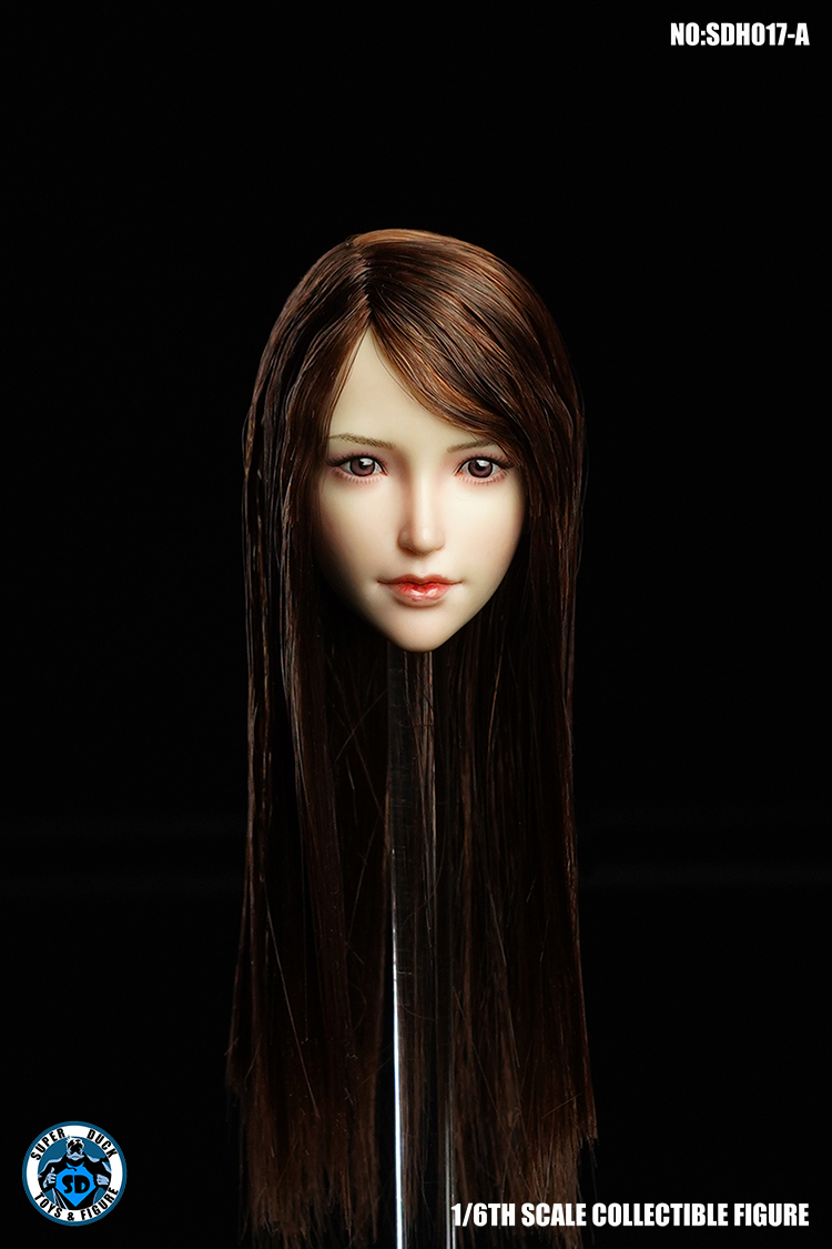 SuperDuck - NEW PRODUCT: SUPER DUCK New product: 1/6 SDH017 Female head carving - ABC three models 3173