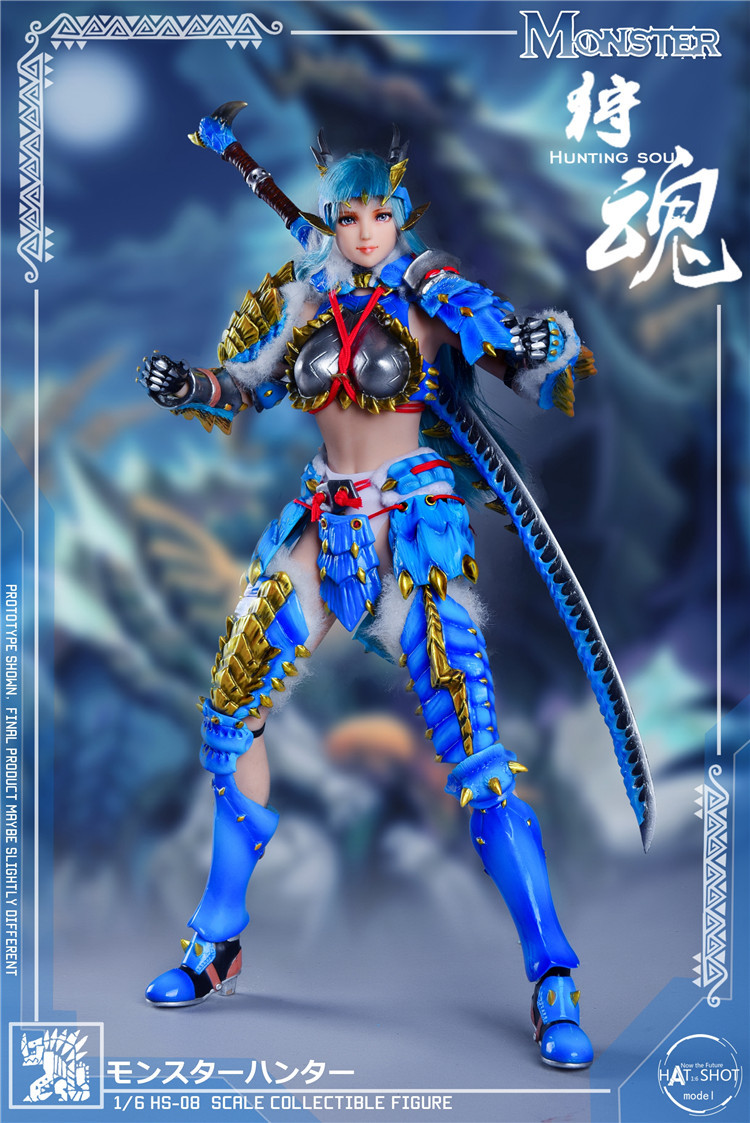 fantasy - NEW PRODUCT: HATSHOT: [HS-08] 1:6 Hunting Soul Doll Version Figure Accessories & [HS-08D] 1:6 Hunting Soul Doll & Platform Version Figure Accessories 3182