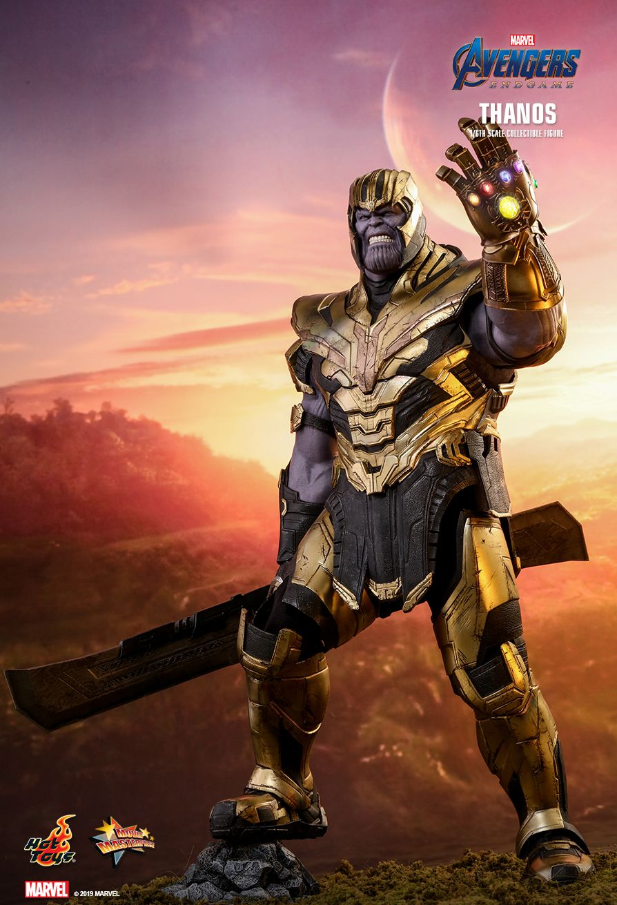 Thanos - NEW PRODUCT: HOT TOYS: AVENGERS: ENDGAME THANOS 1/6TH SCALE COLLECTIBLE FIGURE 3196