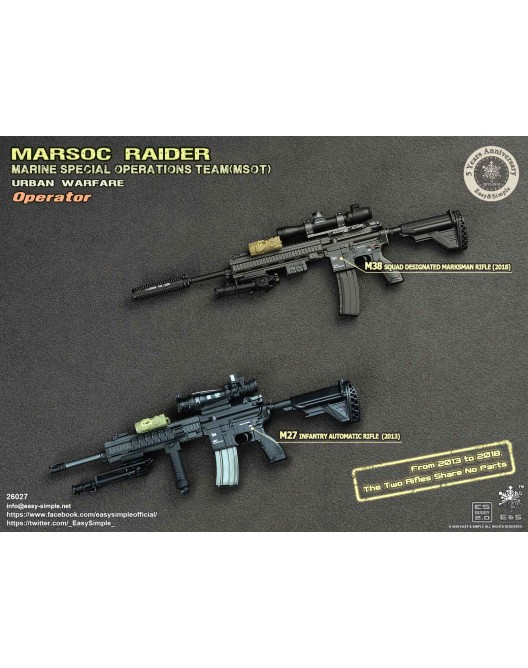 NEW PRODUCT: Easy & Simple 26027 1/6 Scale MARSOC Raider Urban Warfare Operator 32-52810