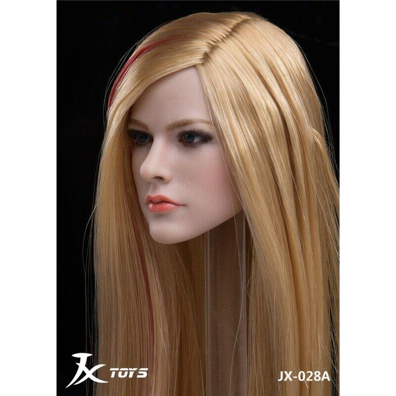 NEW PRODUCT: JXTOYS JX-029 Avril Head Sculpt H#Suntan 3205