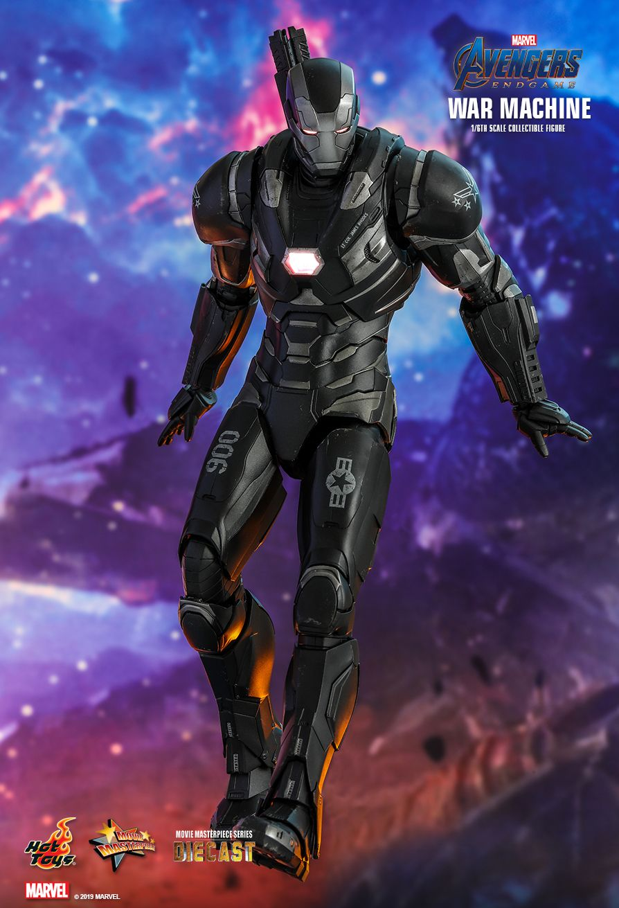 WarMachine - NEW PRODUCT: HOT TOYS: AVENGERS: ENDGAME WAR MACHINE 1/6TH SCALE COLLECTIBLE FIGURE 3206