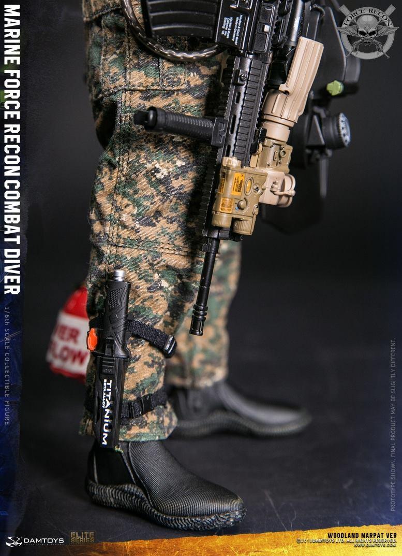 DamToys - NEW PRODUCT: DAM Toys: Marine Force Recon Combat Diver (Desert MARPAT) (GIDAM-78056) & (Woodland MARPAT) (GIDAM-78055) 3213