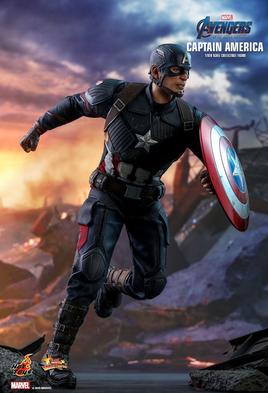 captainamerica - NEW PRODUCT: HOT TOYS: AVENGERS: ENDGAME CAPTAIN AMERICA 1/6TH SCALE COLLECTIBLE FIGURE 3221