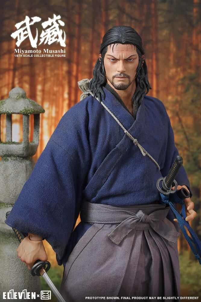 NEW PRODUCT: Eleven X KAI Musashi 1/6 Scale Figure 3233