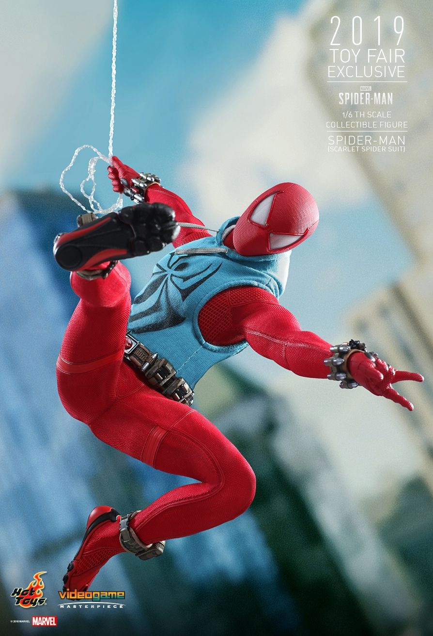 marvel - NEW PRODUCT: HOT TOYS: MARVEL'S SPIDER-MAN SPIDER-MAN (SCARLET SPIDER SUIT) 1/6TH SCALE COLLECTIBLE FIGURE 3241
