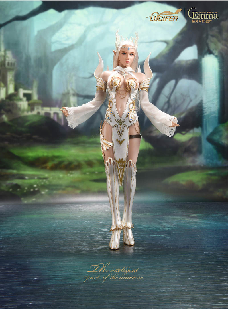fantasy - NEW PRODUCT: [LXF-1904B] Elf Queen Emma Queen Version 1:6 Figure by Lucifer 3243
