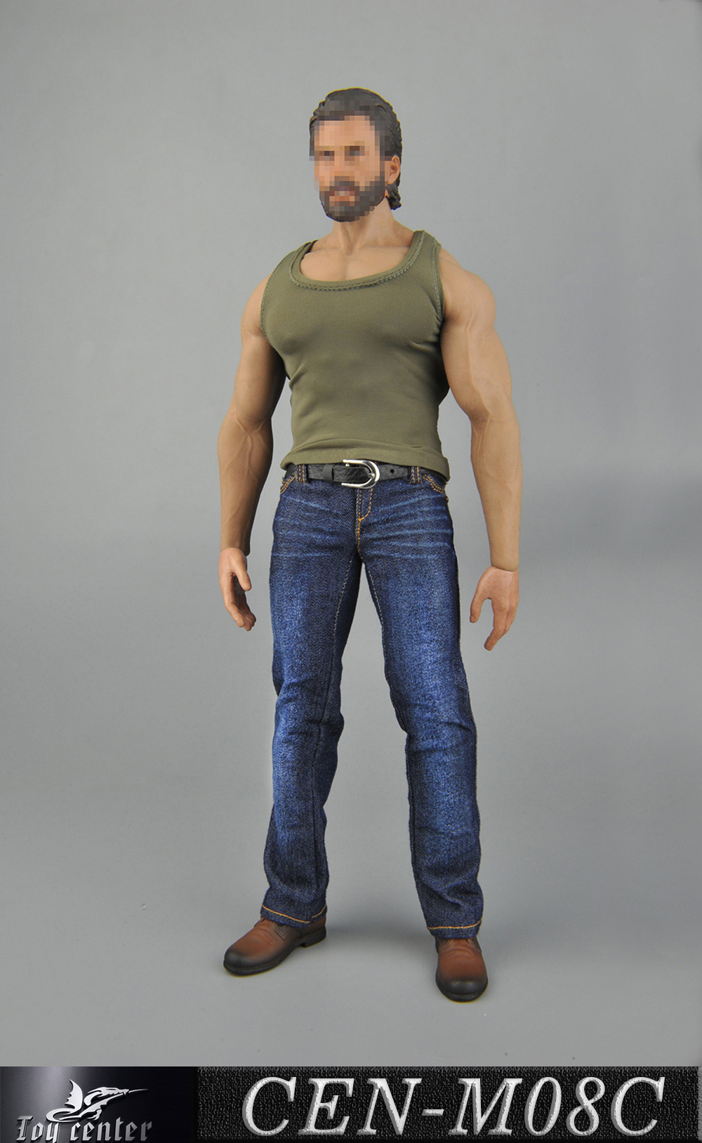 clothes - NEW PRODUCT: Toy Center: 1/6 Sports Vest Jeans Set - Three Colors A/B/C 3259