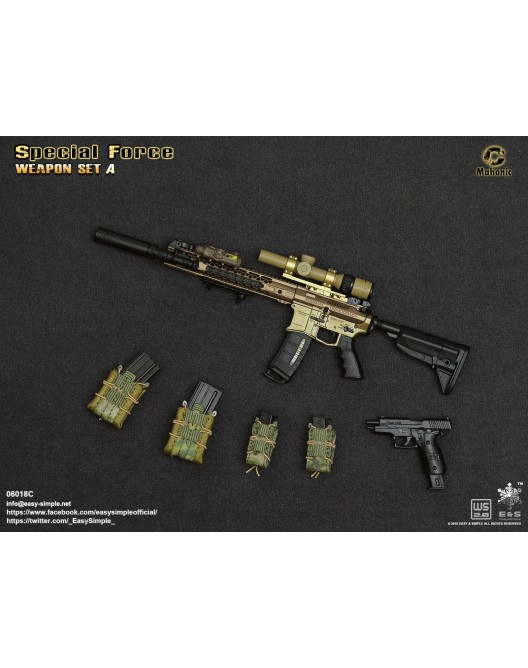 NEW PRODUCT: Easy&Simple: 06018 1/6 Scale PMC Weapon Set in 3 Styles & 06019 1/6 Scale Doom's Day Weapon Set in 3 Styles 3261