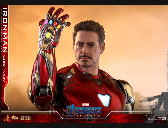 NEW PRODUCT: HOT TOYS: AVENGERS: ENDGAME IRON MAN MARK LXXXV 1/6TH SCALE COLLECTIBLE FIGURE 3263