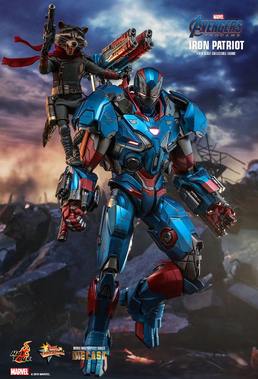Endgame - NEW PRODUCT: HOT TOYS: AVENGERS: ENDGAME IRON PATRIOT 1/6TH SCALE COLLECTIBLE FIGURE 3276